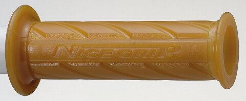 キジマ KIJIMA 201-6724 NICEネオミニグリップ 生ゴム 貫通タイプ 全長110mm 22.2mmハンドル用 キジマ 201-6724
