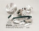 キタコ 500-1083800 8/10インチリヤディスクキット 2.50ホイール用 シルバー モンキー(タイプX) キタコ 500-1083800