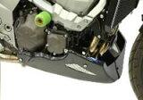 Power Bronze パワーブロンズ 320-K107-680 アンダーカウル カーボンルック/シルバー Z750(04-12)/Z1000(03-09)