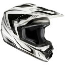 RSタイチ HJH123 HJC CS-MX2 エッジ オフロードヘルメット ホワイト ブラック Sサイズ 55-56cm ヘルメット