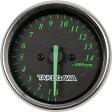 SP武川 タケガワ 05-05-0014 電気式タコメーター ブラック&グリーン 12Vモンキー(FI対応)(FIコンプラス非対応) SP武川 タケガワ 05-05-0014
