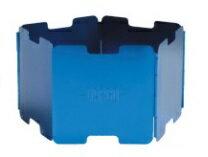バーゴVARGOT-421アルミニウムウインドスクリーンブルーアウトドアストーブバーナーコンロ風防