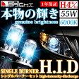 【RISE UP】【SOLBRIGHT】HIDバーナー 55w 6000k 絶対安心1年保証付!(H4Hi/Lo切り替え) 《キセノン XENON》