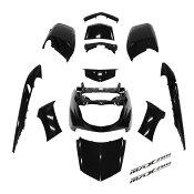 ヤマハ マグザム SG17J/SG21J 外装12点セット 黒/ブラック MAXAM 限定セット エンブレム付き 外装セット  バイクパーツセンター