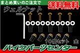 ウェルナット 10個セット 金【ゴールド】 バイクパーツセンター