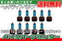 ヘッドライトバルブ ブルー HS5 10個セット レッツ5/G アドレスV50 PCX レッツ4バスケット
