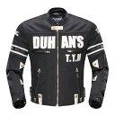 【DUHAN】モーターサイクル メッシュジャケット 黒【3シーズン】【XLサイズ】【ドゥーハン】【プロテクター付】【インナーパッド】【ライディングウェア】【バイク用】 バイクパーツセンター duhan バイク ジャケット 夏