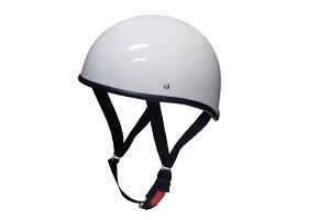 ダックテールヘルメット ホワイト キャップ チョッパー スクーター ダッグテール
