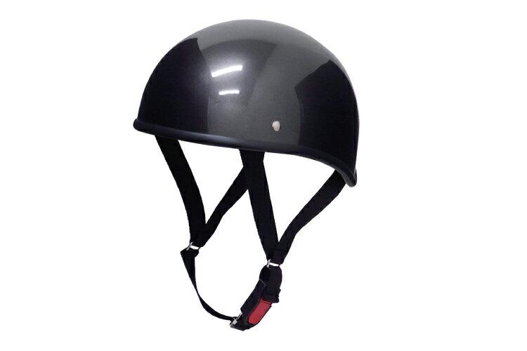 ダックテール ガンメタ 【XLサイズ】【124cc以下】【SG規格適合 PSCマーク付】【バイク】【オートバイ】【ヘルメット】【半帽】 バイクパーツセンター