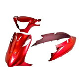 アドレスV125/G CF46A カウルセット 3点 赤 【レッド】【AddressV125/G】【塗装済】【外装セット】 『バイクパーツセンター』