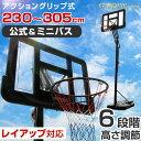 【送料無料】 G-Body バスケットゴール 6段階高さ調節 公式&ミニバス対応 ポールパッド 屋外 室内 野外 7号球 対応 公式サイズ 家庭用 ポータブルバスケットゴール ミニバス 230cm 305cm 練習用