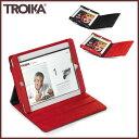 【送料・代引料無料】『ドイツ トロイカ iPad2専用スタンド付ケースカバー ※全2種類 』【smtb-KD】【 TROIKA Apple iPad 2 カバー 雑貨 スタンディングカバー 】