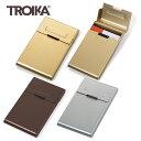 【メール便送料無料】『ドイツ トロイカ ビジネスカードケース リーディングロール』【TROIKA 名刺入れ カード入れ ギフト 雑貨】