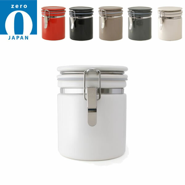 『ゼロジャパン ZEROJAPAN コーヒーキャニスター150』【保存容器 コーヒー キャニスター 密封 日本製 雑貨】