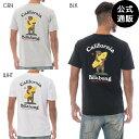 【SALE】2019 ビラボン メンズ CUFFY CALIFORNIA Tシャツ 全3色 M/L/XL BILLABONG