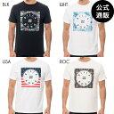 【OUTLET】2019 ビラボン メンズ SQUARE LOGO Tシャツ 全4色 S/M/L/XL BILLABONG