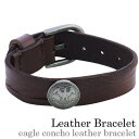 Eagle concho leather bracelet leather [easy  _ packing choice] [_ Kanto tomorrow for comfort] [_ Tokai tomorrow for comfort] [_ Kinki tomorrow for comfort] [_ China tomorrow for comfort] [_ four tomorrow for comfort] [_ Kyushu tomorrow for comfort]