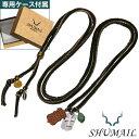 【シュメール】シールドチャームレザーペンダント ブランド:SHUMAIL [真鍮] アクセサリー ペンダント ネックレス メンズ