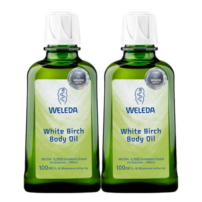 WELEDA/ヴェレダホワイトバーチボディオイル2個セット特典付国内正規品(美容/コスメ/香水/ボデ