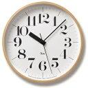 【最大20倍ポイントUP中】正確な時を刻む電波時計!シンプルで見やすい文字盤♪【Lemnos (レムノス) Riki Clock RC 電波時計 WR07-11】