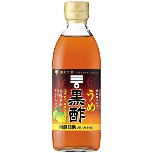 ミツカン うめ黒酢 500ml×6本入 (送料無料) MIZKAN お酢ドリンク 飲むお酢 黒酢 健康酢 酢飲料