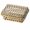 籃子 - 竹の素材感を活かしたアイテムBamboo 竹 バンブー小物入れ フタ付き 27-30お取り寄せ商品となる為、お届けまでに1週間〜10日程度掛ります。キャンセル・変更不可