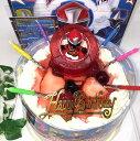 旧作:手裏剣戦隊ニンニンジャー・キャラデコレーションケーキ5号/4種類のケーキからお選び下さい/バースデーオーナメントとキャンドル小1袋6本付き/キャラクターケーキ/バースデーケーキ(お面とバルーンは付いておりません)