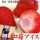 【お中元ギフト2019にも!】和苺アイス14粒(竹かご入)国産いちごに苺練乳アイスクリームを詰めました♪[送料無料]