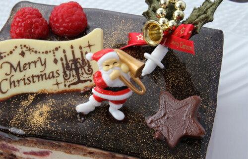 クリスマスケーキ・パティスリー『TakaYanai』ブッシュ・ド・ノエル≪ミニ≫
