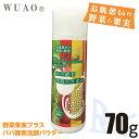 ウアオ 野菜と果実プラス パパ酵素洗顔パウダー 70g