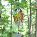 ガラスの風鈴 レトロプリズム glasscalico グラスキャリコ ハンドメイドガラスアート ギフト プレゼント
