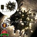 日本市場向け 高品質 100球 LED シャンパンゴールド イルミネーション USB電源 高輝度 防水 クリスマスツリー ACアダプター(コンセント)可 イルミ led 屋外 室内 防雨 野外 電飾 (※連結不可)