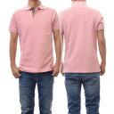 (バブアー)BARBOUR メンズポロシャツ TARTAN PIQUE POLO / MML0012 ピンク【あす楽対応】