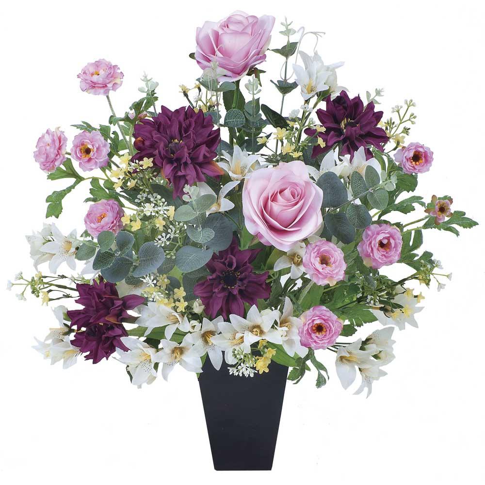 造花アート・アレンジメント フレグランス 誕生日祝いの贈り物、プレゼントに最適 ※抗菌、消臭、防汚などに効果のある光触媒人工植物【送料・立札orメッセージカード無料】 空間浄化作用のある光触媒の高級造花は水やりなど面倒な日頃のお手入れは不要、誕生日祝いの贈り物、プレゼントにオススメの商品です。