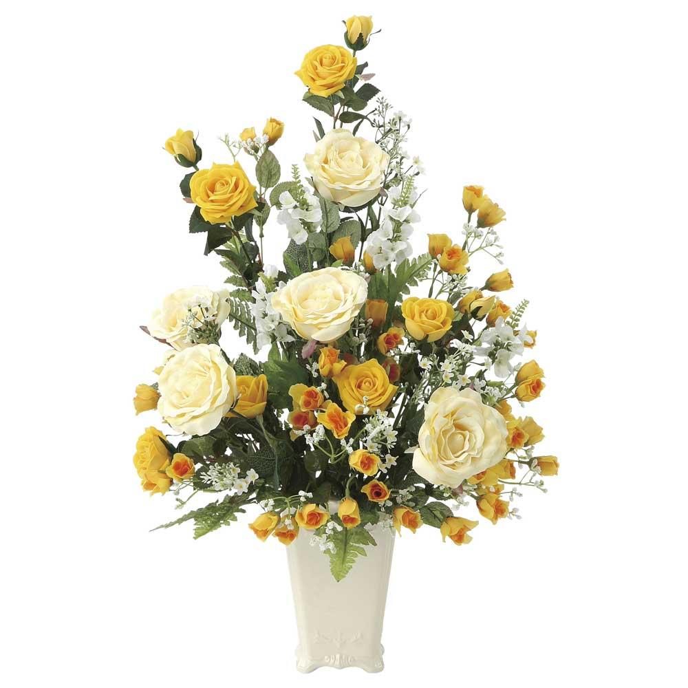 造花アート・アレンジメント レーシーレディ 記念日祝いの贈り物、プレゼントに最適 ※抗菌、消臭、防汚などに効果のある光触媒人工植物【送料・立札orメッセージカード無料】 空間浄化作用のある光触媒の高級造花は水やりなど面倒な日頃のお手入れは不要、記念日祝いの贈り物、プレゼントにオススメの商品です。