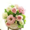 アレンジメントフラワーSサイズ Girlishness(ピンク系)※デザイナーが手がけるお洒落な一品。歓迎祝い、退職祝いなど、人事に関するお...