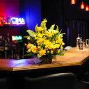 コンサートやライブの楽屋花にもおすすめ!アレンジメントフラワーSサイズ 暖色系1万円コース