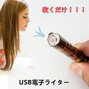 【送料無料】1000円ポッキリUSB電子ライター USBライター 充電式ライター ガス・オイル不要 ライター USB充電ライター・誕生日・記念日に最適なプレゼン...