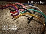 「NEW YORK,NEW YORK」bull喇叭酒吧【pisuto】【BMX】【pisutopatsu】【方向盘】[「NEW YORK,NEW YORK」ブルホーンバー 【ピスト】【BMX】【ピストパーツ】【ハンドル】]