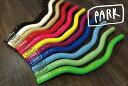 『PARK』【ショートライザーバー】クランプ径25.4mm[ピスト][ピストパーツ][ピストバイク][ライザー][ハンドル][PARK][カラー][ライダーズカフェ]