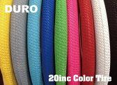 『DURO』【20インチカラータイヤ】20×1.95 自転車用[ピスト][パーツ][ピストパーツ][タイヤ][BMX][ミニベロ][小径車][ライダーズカフェ]