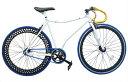オーダーメイド 自転車 スティングレイピストバイク 完成車 シングルスピードホワイト フラットフレーム(530mm)ご購入前に注意事項を必ずご確認ください。
