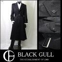 ショッピングカラオケ 【BLACK GULL】ステージ衣装 舞台 バンド衣装オーケストラ カラオケ男性 メンズ 【品番/デザイン】C 450/シングルピークコート