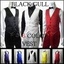 【BLACK GULL】ステージ衣装 舞台 バンド衣装オーケストラ カラオケ男性 メンズ 【品番/デザイン】B 3600.3700/サテン 4Bベスト