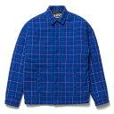 送料無料 NINE RULAZ LINE ナインルーラーズ Check Drop Shoulder Jacket ドロップショルダー ジャケット NRAW17-022 ブルー チェック