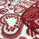 ベビー綿毛布 日本製 ハート柄のblan&co.オリジナル 洗える 送料無料 工場直販 産地直送 保育園 幼稚園にも♪