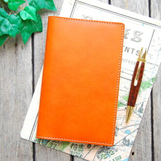 Notebook cover seven Handbook mini leather cover / leather notebook cover made in Japan natural leather notebook cover