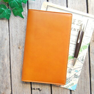 Handbook cover seven hand book leather cover / leather notebook cover made in Japan natural leather notebook cover