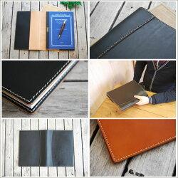 本革製の手帳カバーで毎日手帳を開くのが楽しくなります。