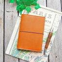 手帳カバー パスポートケース 革 トラベラーズノート カバー / パスポートサイズ